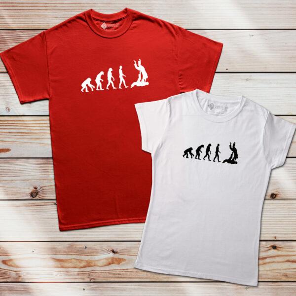 T-shirt Evolution Jiu-jitsu personalize pt