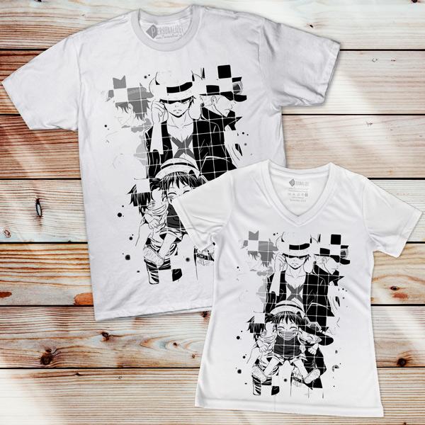 Luffy Sabo e Ace T-shirt One Piece comprar em Portugal