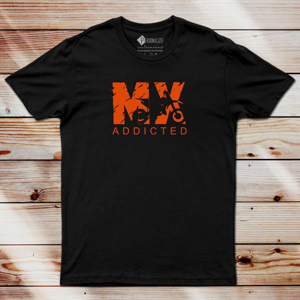 T-shirt Motocross Addicted MX preço