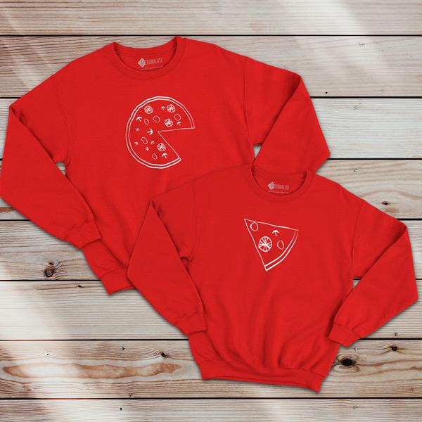 Pizza Lovers Sweatshirt unisex comprar