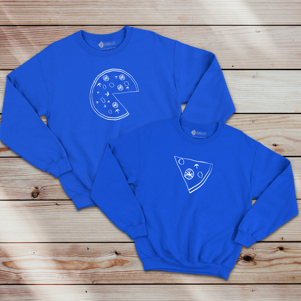 Pizza Lovers Sweatshirt unisex comprar em Portugal