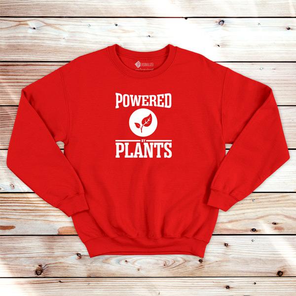 Powered By Plants Sweatshirt unisex comprar