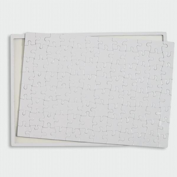 Puzzle branco para sublimação 96 peças 20x28,7cm coprar em Portugal