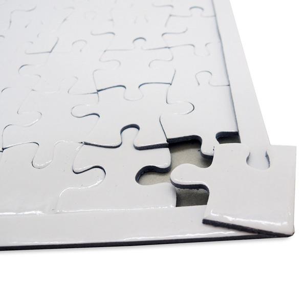 Puzzle branco para sublimação 96 peças 20x28,7cm customizado