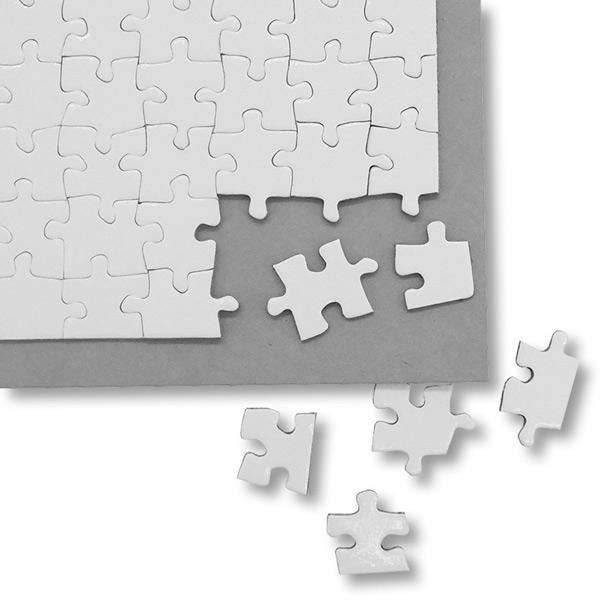 Puzzle branco para sublimação 96 peças 20x28,7cm puzzle personalizado