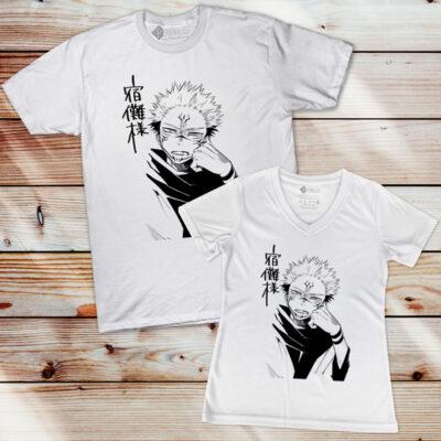 T-shirt Sukuna Jujutsu Kaisen comprar em Portugal