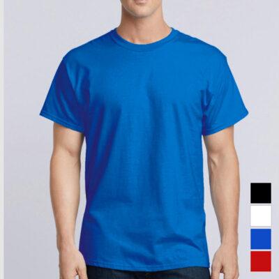 T-shirt 100% algodão 190g ring-spun Unisex Adulto sem personalização