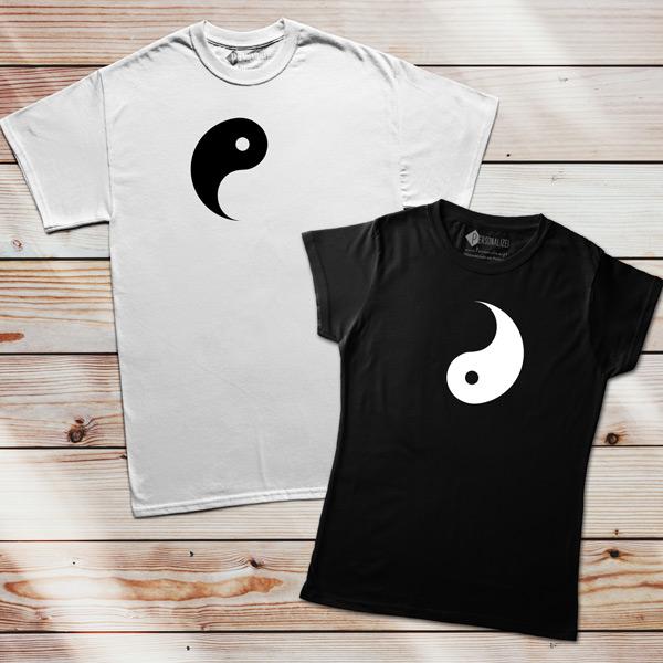T-shirts Yin Yang conjunto namorados