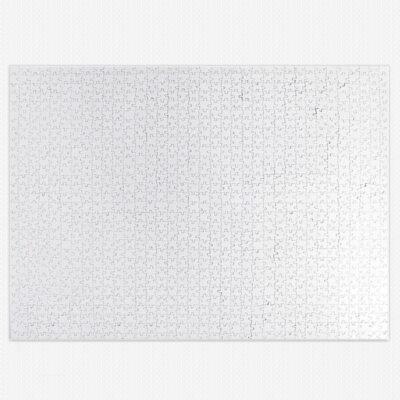 Puzzle branco para sublimação 1080 peças 69,5 x 49,5cm comprar em Portugal