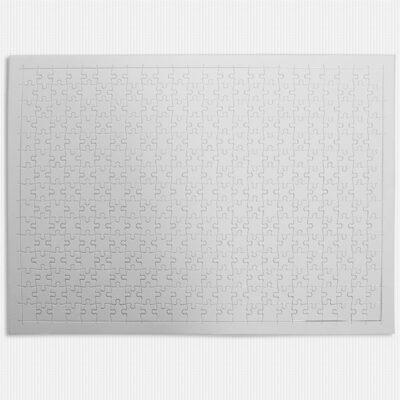 Puzzle branco para sublimação 360 peças 41x29cm para revenda