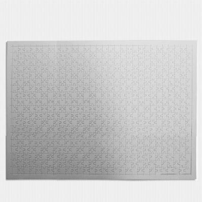Puzzle branco para sublimação 540 peças 49,5x34,5cm em branco