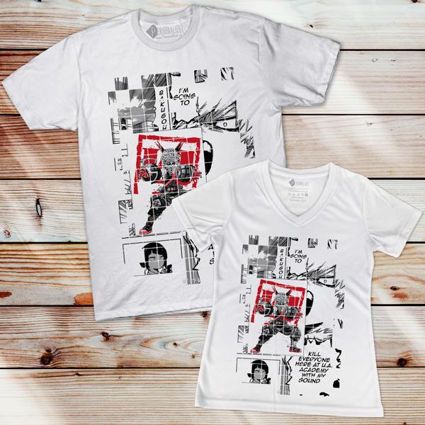 Bakugou T-shirt Boku No Hero Academia