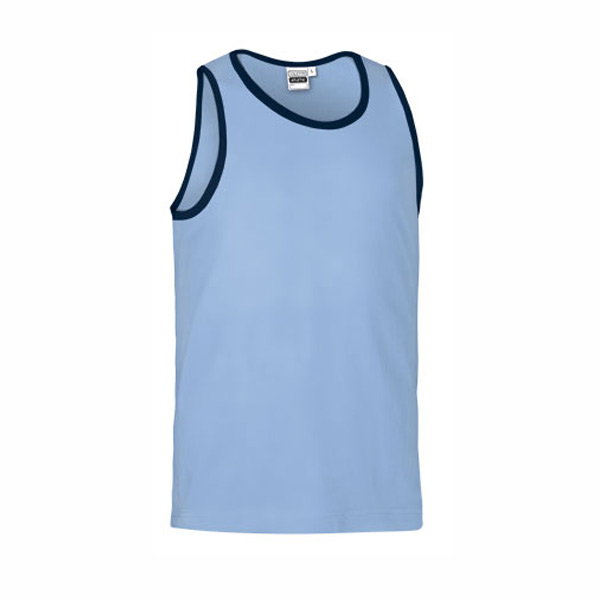 Camisola Caveada 100% algodão 160g ring-spun Unisex azul