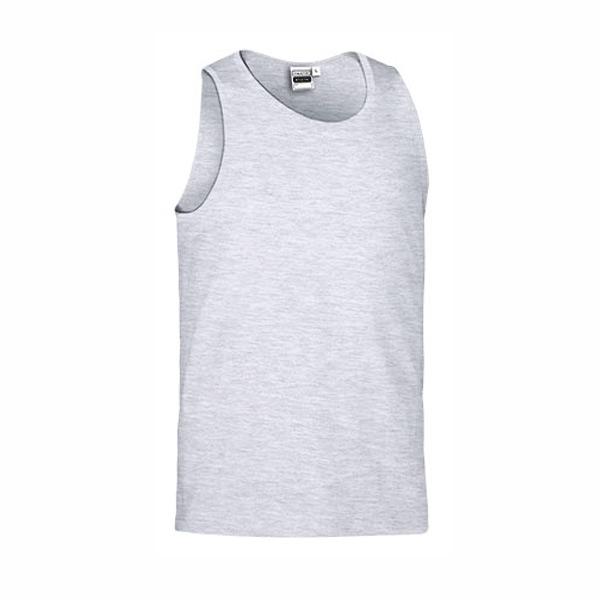 Camisola Caveada 100% algodão 160g ring-spun Unisex cinzenta