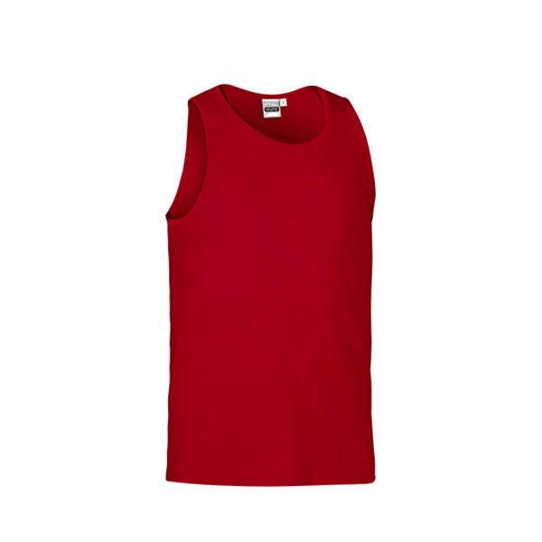 Camisola Caveada 100% algodão 160g ring-spun Unisex vermelha