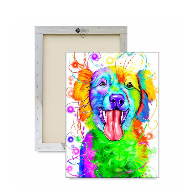 Sua foto em Ilustração colorida estilo aquarela preço