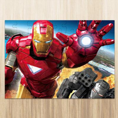 Puzzle Homem de Ferro em madeira ou cartão comprar em Portugal