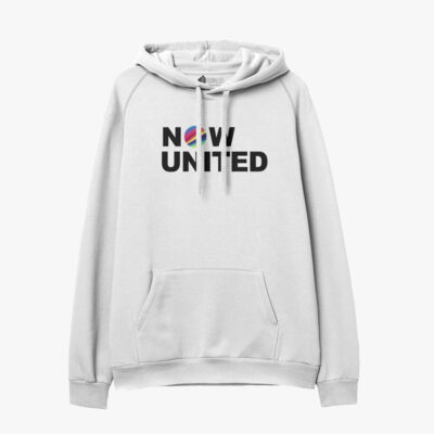 Now United Sweatshirt com capuz branco infantil e adulto comprar