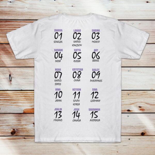 Now United T-shirt com todos os integrantes comprar