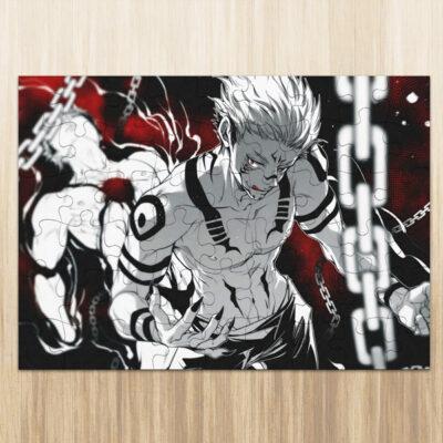 Sukuna Puzzle Jujutsu Kaisen em madeira ou cartão comprar em Portugal
