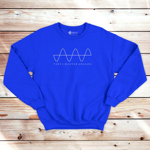 Analog Signal Vinyl Dj technics Sweatshirt unisex preço