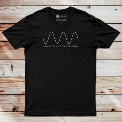 T-shirt Analog Signal Vinyl Dj technics comprar em Portugal