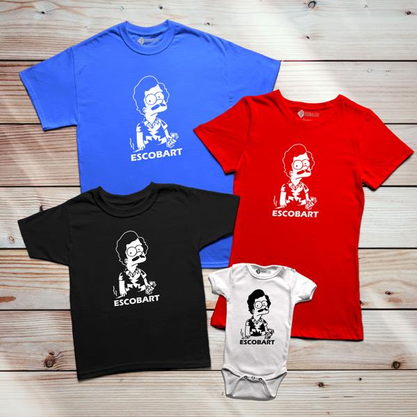 T-shirt Escobart camiseta personalizada