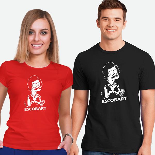 T-shirt Escobart homem e mulher