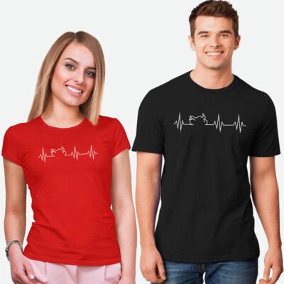 T-shirt Heartbeat Mota comprar