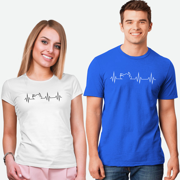 T-shirt Heartbeat Mota em Portugal