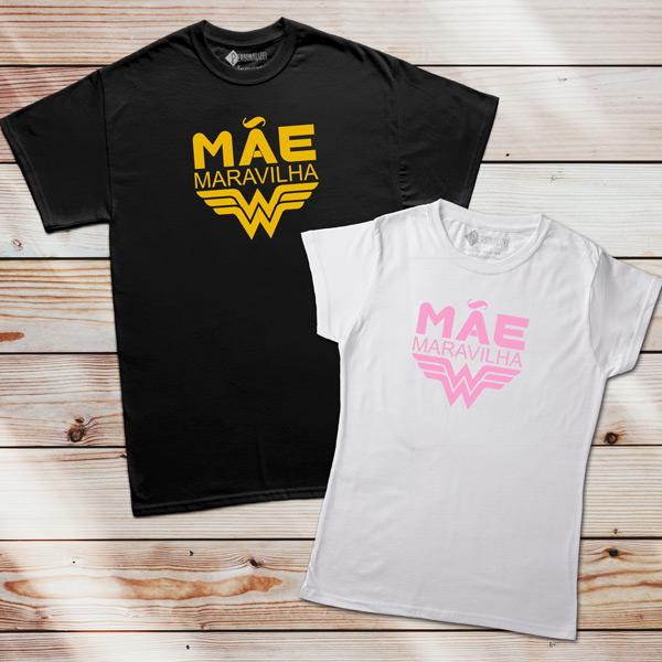 T-shirt Mãe Maravilha feminina