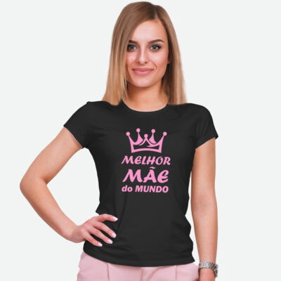 T-shirt Melhor Mãe do Mundo comprar em Portugal