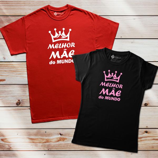 T-shirt Melhor Mãe do Mundo