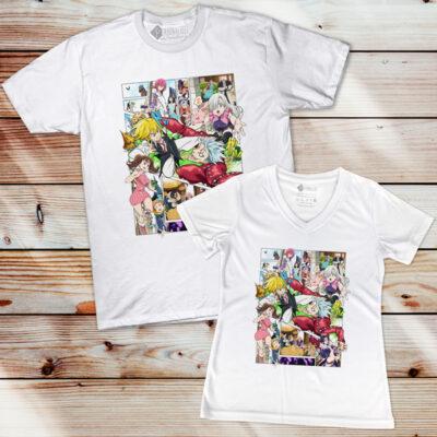 T-shirt Nanatsu no Taizai camiseta comprar em Portugal