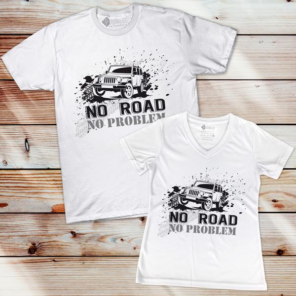 T-shirt No Road No Problem 4x4 preço