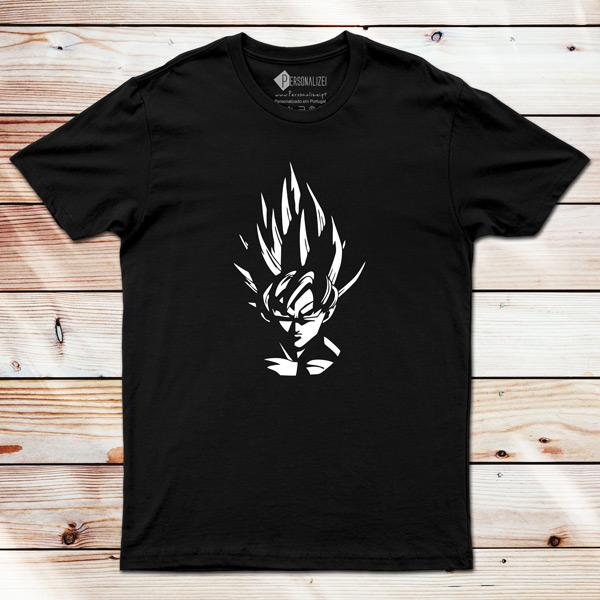 T-shirt Son Goku Dragon Ball Z personalizada