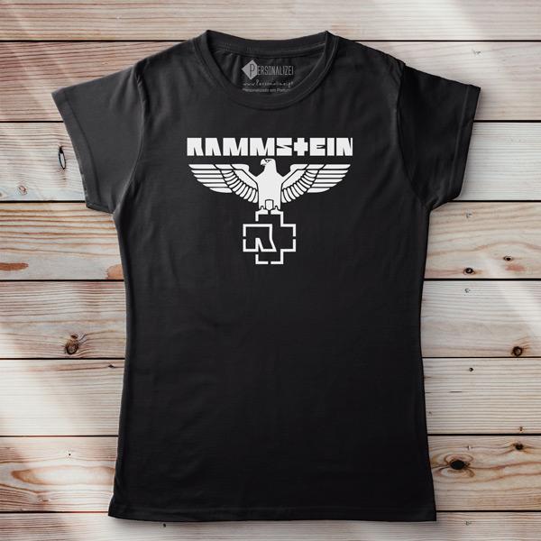 T-shirt Rammstein Eagle para mulher