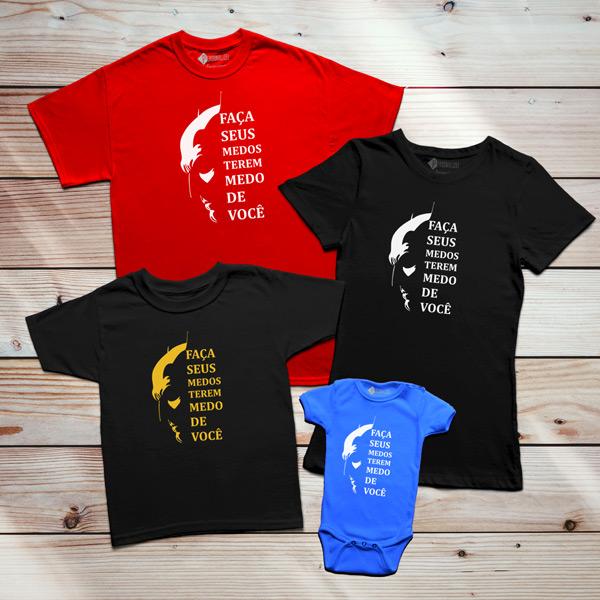 Batman T-shirt Medos conjunto