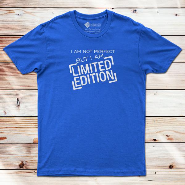 T-shirt Limited Edition azul