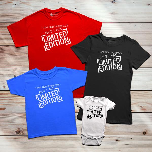T-shirt Limited Edition para família