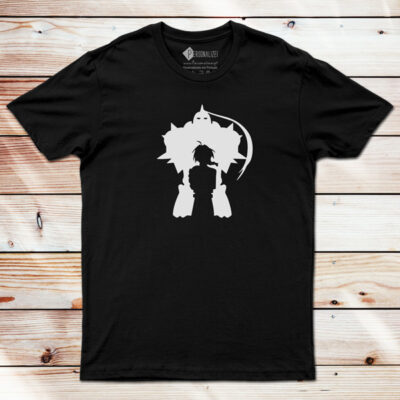 Edward e Alphonse T-shirt Fullmetal Alchemist em Portugal