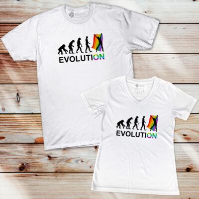 T-shirt LGBT Pride Evolution comprar
