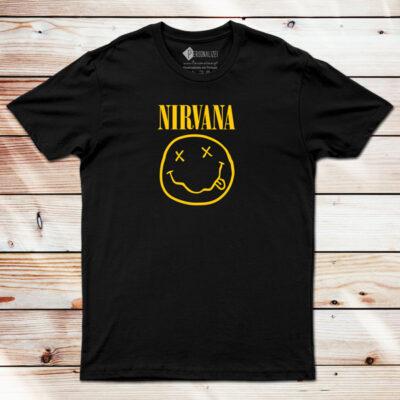 T-shirt Nirvana banda comprar em Portugal