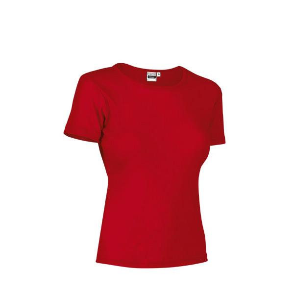 T-shirt malha canelada 50% poliéster 50% Algodão 200g mulher fornecedor revenda
