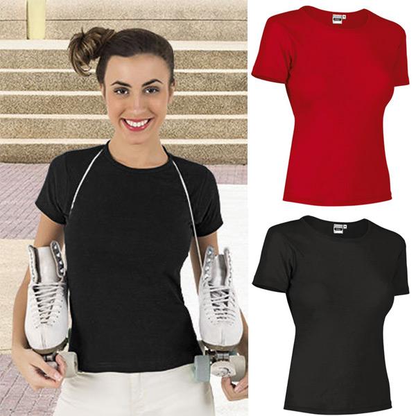 T-shirt malha canelada 50% poliéster 50% Algodão 200g mulher comprar