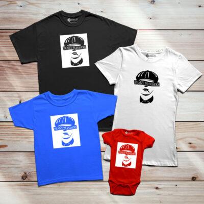 Peaky Blinders T-shirt para família