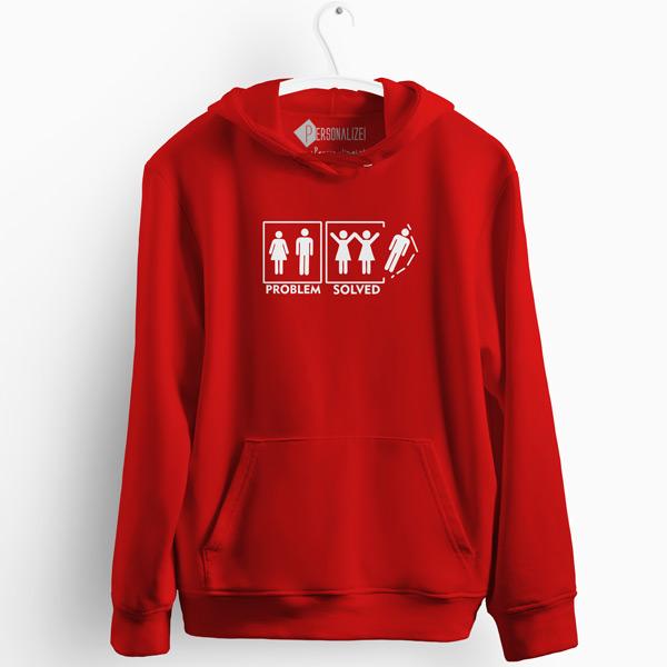 Lesbian Problem Solved Sweatshirt com capuz comprar
