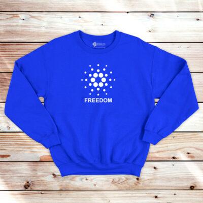 Cardano Freedom Sweatshirt unisex ADA comprar em Portugal