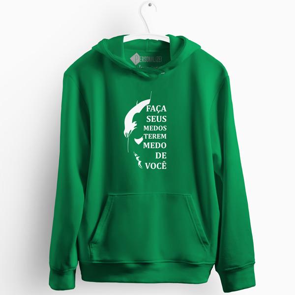 Batman medos Sweatshirt com capuz verde