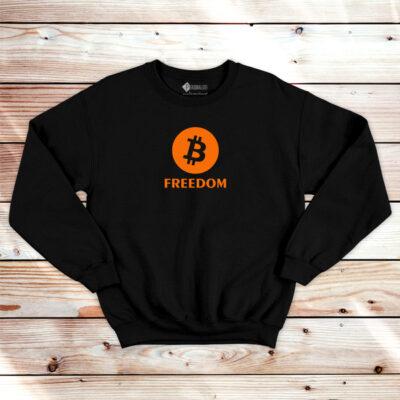 Bitcoin Freedom Sweatshirt unisex BTC em Portugal